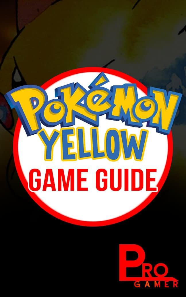 Pokemon Yellow Game Guide 1