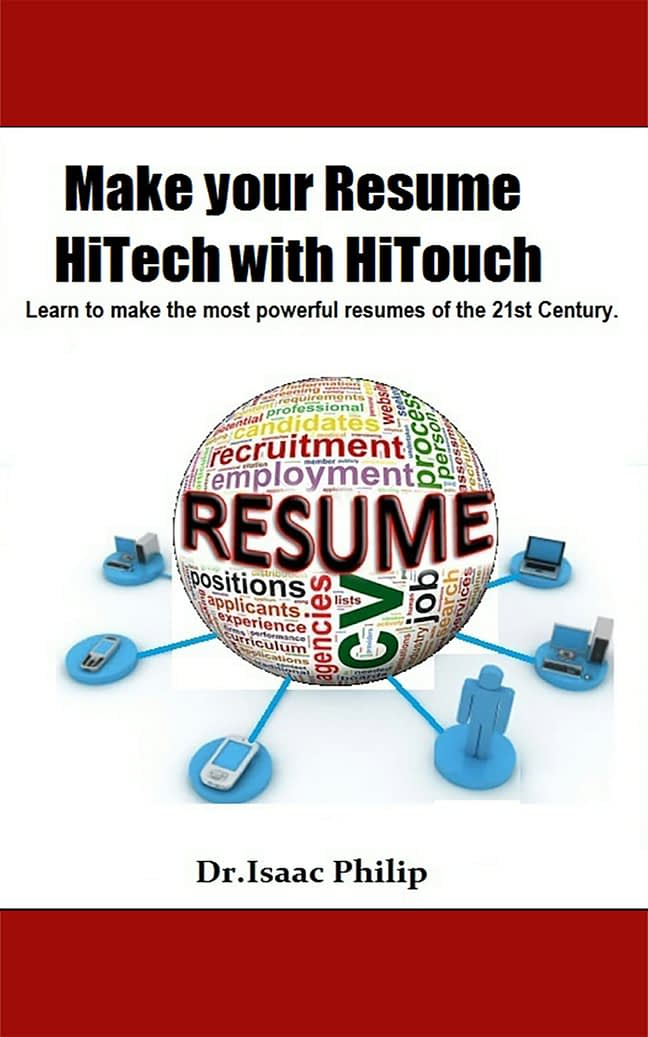 Make your Resume HiTech with HiTouch 1