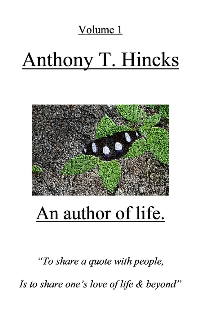 Anthony T. Hincks: An author of life. 1