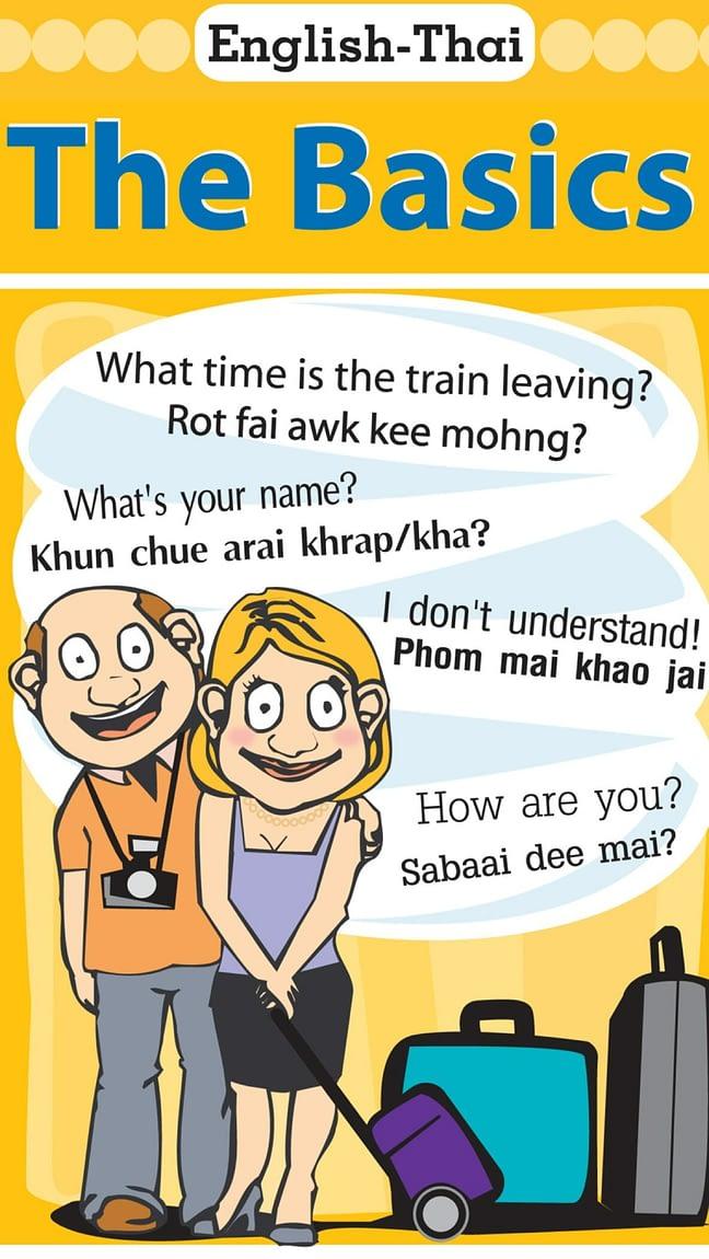English-Thai - The Basics 1