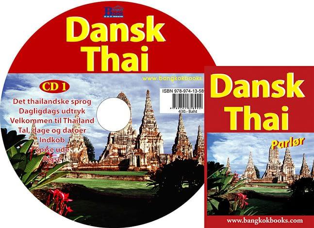 CD + Dansk-Thai parlør 1