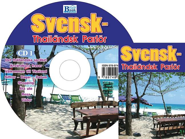 CD + Swedish-Thai phrase book 1