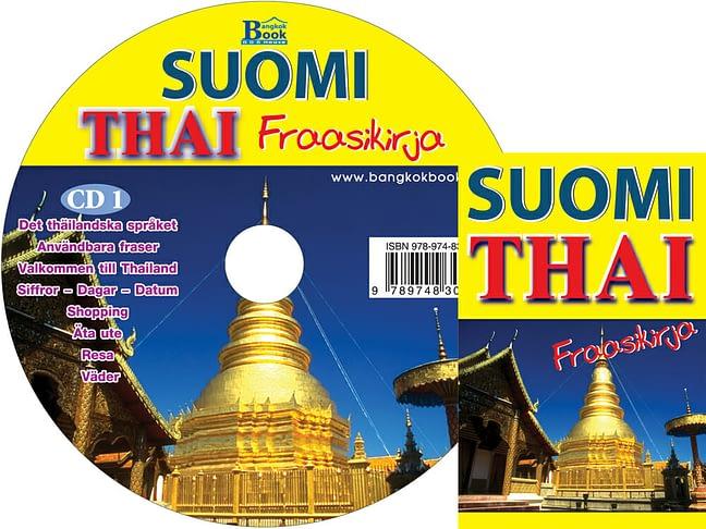 CD + Suomi-Thai fraasikirja book 1