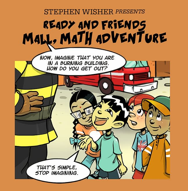 Ready and Friends Mall, Math Adventure 1