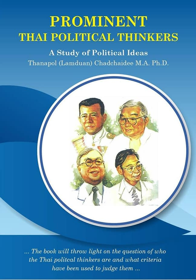 Prominent Thai Political Thinkers 1